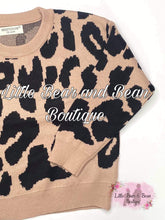 Load image into Gallery viewer, Luxe Tan Leopard Sweater