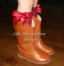 Load image into Gallery viewer, Brown Cowgirl Boots