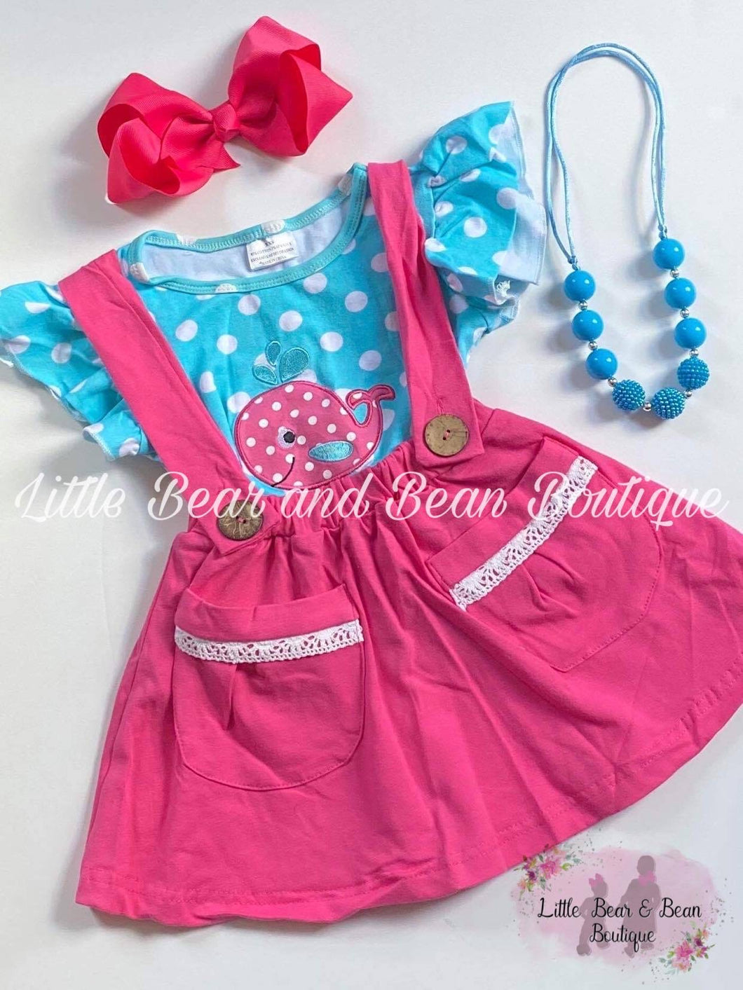 Whale Suspender Set
