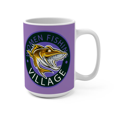 Purple Predator Mug 15oz