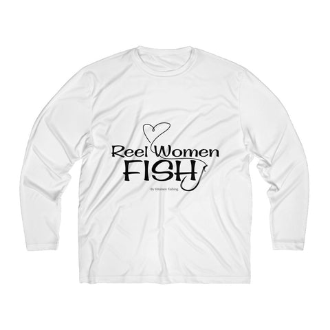 Reel Women Fish Long Sleeve Tee up to 4XL
