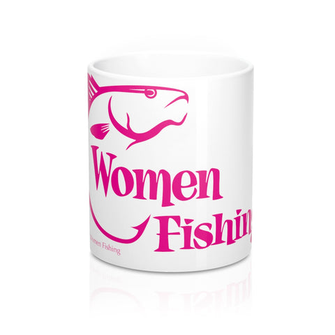 Women Fishing Mug