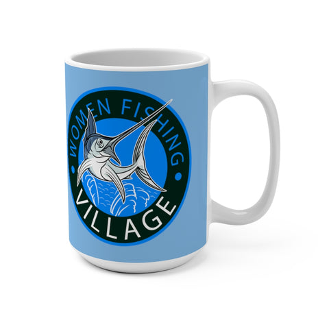 Blue Sailfish Mug 15oz