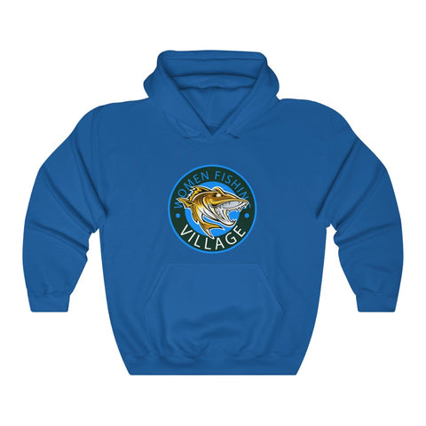 WOMENFISHING BLUE PIKE/MUSKIE Hoodie up to 5x