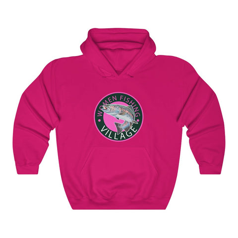 WOMENFISHING PINK RAINBOW TROUT Hoodie up to 5x