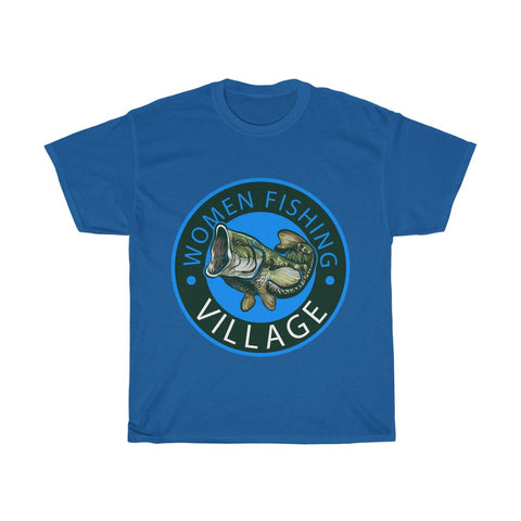 Bass Blue Heavy Cotton Tee Multicolor