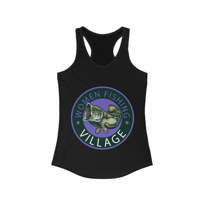 WFV BASS PURPLE Racerback Tank