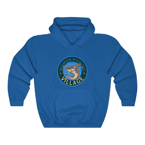 WOMENFISHING BLUE CATFISH Hoodie up to 5x