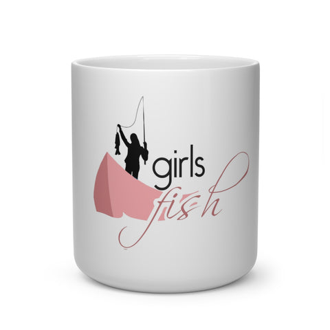 Girls Fish 3 Heart Shape Mug