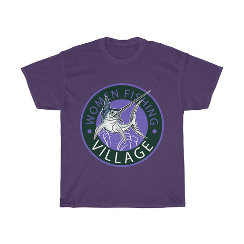 Sailfish Purple Heavy Cotton Tee Multicolor
