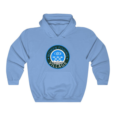 WOMENFISHING BLUE LOGO Hoodie up to 5x
