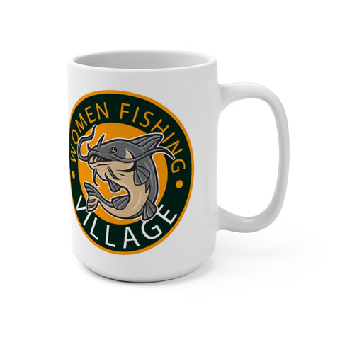 Orange Catfish Mug 15oz