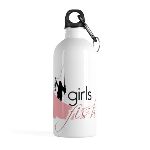 Girls Fish Stainless Steel Water Bottle