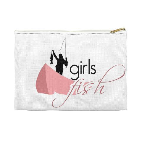 Girls Fish Accessory Pouch