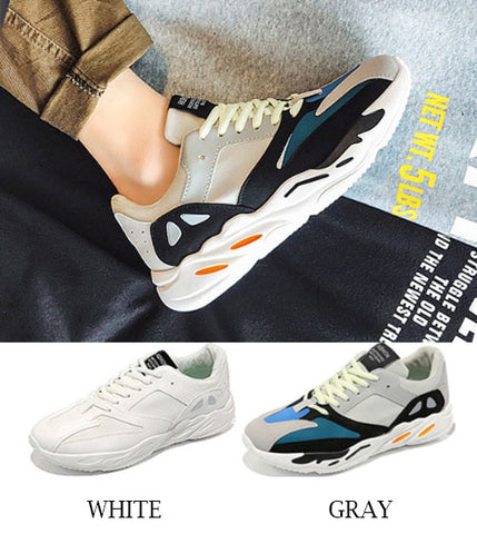 Drawstring Athletic Sneakers Shoes
