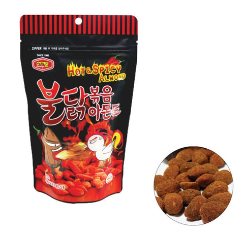 Murgerbon BULDAK HOT-SPICY ALMONDS 210g