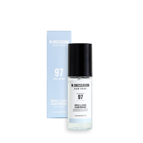 W.Dressroom Dress Living Clear Perfumes 70ml [97.April Cotton]