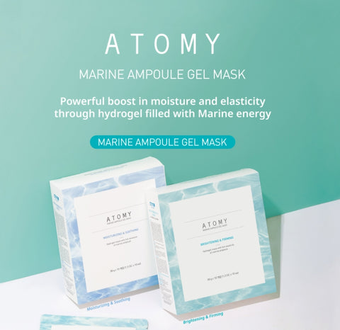 ATOMY Marine Ampoule Mask Brightening & Firming Collagen Skin Tone