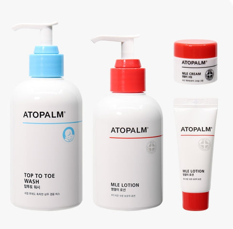 ATOPALM Essential Care Set Skin Barrier Moist Daily Care Natural Baby