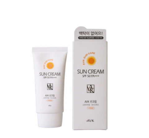 AVK Aloe vera Sun Cream SPF 50 PA +++ Waterproof freshly UV Protection