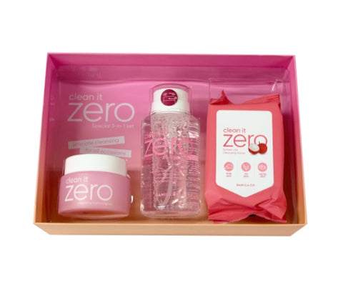 BANILA CO clean it ZERO Special 3-in-1 set Korean Skincare Cosmetics