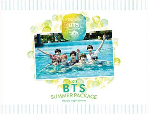 BTS Official 2015 Summer Package In Kota Kinabalu KPOP DVD Photo Book Kpop