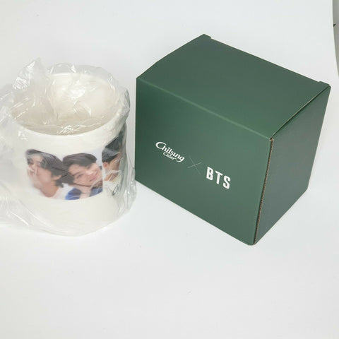 BTS Chilsung Cider Official Mugs Cups Limited Rare Concert KPOP Goods