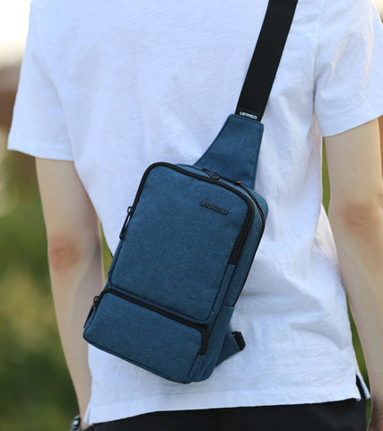Navyblue Travel Sling Bags Messengers Crossbody Picnic Unisex Travel