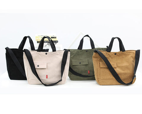 Pocket Unisex Crossbody Totes Handbags Casual Purses Made In Korea