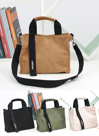 Unisex Crossbody Totes Handbags Travel Men Womens Purses Made In Korea