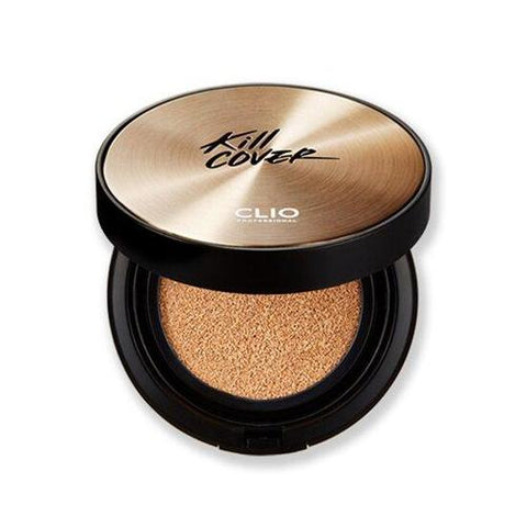 CLIO Kill Cover Ampoule Cushion With Refill Foundations Makeup BB Face