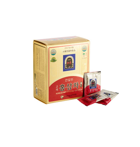 Chunsamwon Korean Red Ginseng Tea Gold [3g x 50 tea bags] Health Gifts