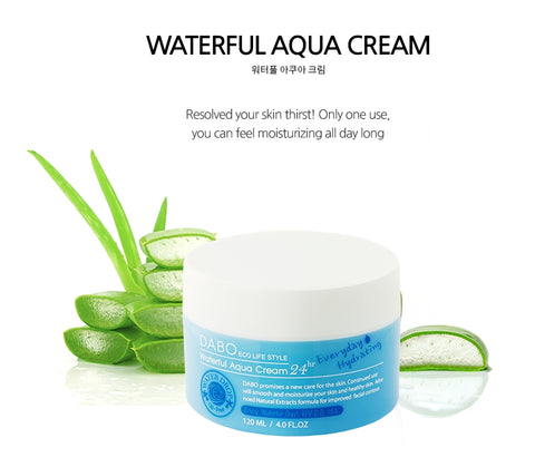 DABO Waterful Aqua Cream 120ml Moisturizing Oilfree Smooth Skin Care