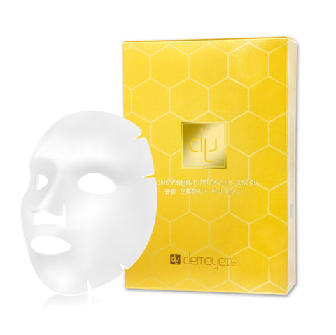 Demeyere Honey Shine Propolis Mask Moisturizing Skin Care Elasticity