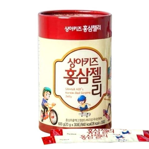 SANGA KID's Korean Red Ginseng Jelly 20g x 30stick 600g 21.1oz