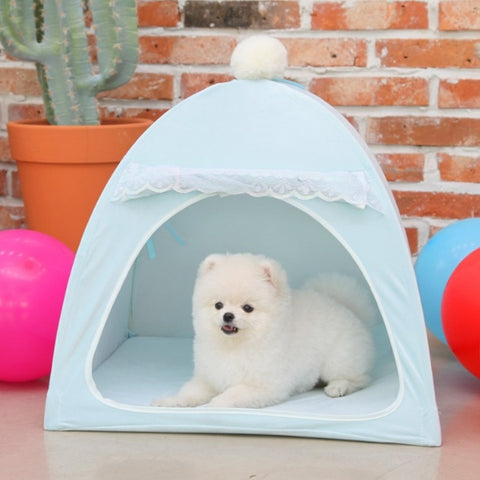 Four seasons Pets Tent Dogs House Pet supplies Puppy Home Decor