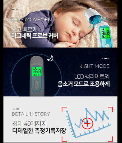 Made in Korea Infrared lines Dual Non contact Thermometer