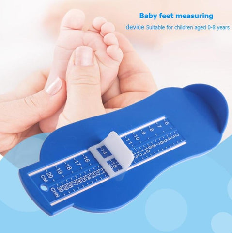 Adjustable Baby Feet Scales Tool Shoes Size Measurement Infant