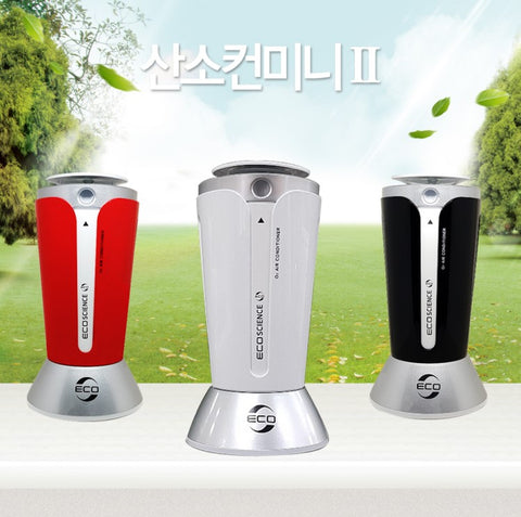 Car mini Air Fresheners Purifier Ionic Deodorizers Made in Korea Fresh