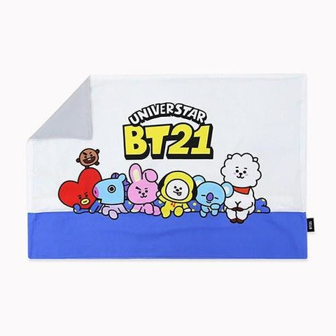 BT21 Comic Pop Cotton Pillow Cover Korea BTS Home Interior accessories