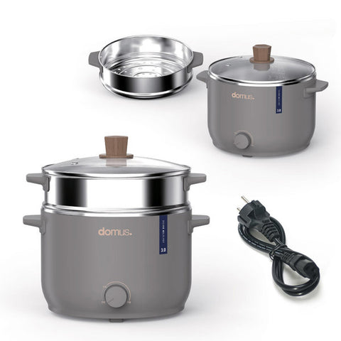 DOMUS Island Multi Cookers stainless steel Kitchen Cooking steamer