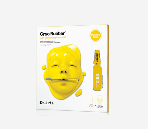 Dr.Jart Cryo Rubber with Brightening Vitamin C Mask Korean Womens Face