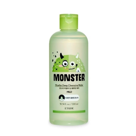 ETUDE HOUSE Monster Micellar Deep Cleansing Water 300ml Skincare Face