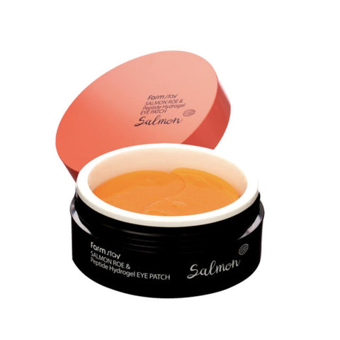FARM STAY Salmon Roe & Peptide Hydrogel Eye Patch 90g Anti-aging