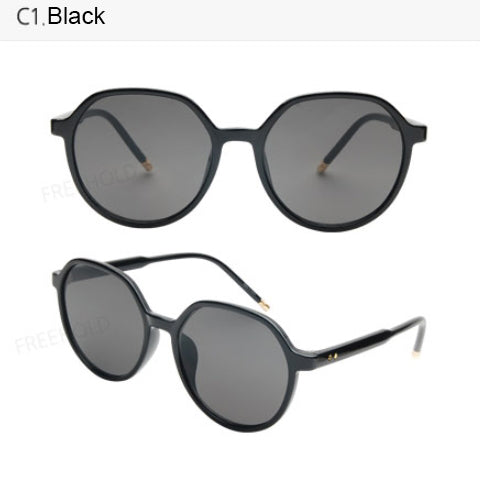 Colorful square Frame Sunglasses Rimmed Unisex Mens Womens Eyewear