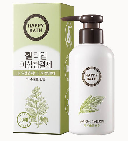 HAPPY BATH Gel type Mugwort Feminine Cleansers 200ml Body care
