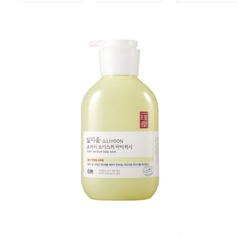 ILLIYOON Fresh Moisture Body Wash 500ml Body care Beauty Tools