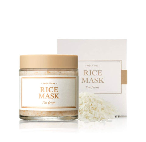 I'm From Rice Mask 110g Brightening  Wash Off Mask Korean Exfoliate