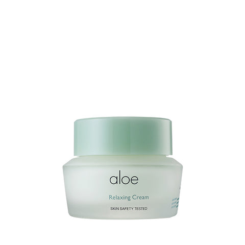 It's Skin Aloe Relaxing Cream 50ml Moisturizing Soothing Facial