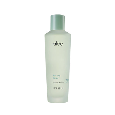 It's Skin Aloe Relaxing Toner 150ml moisturizes refreshes soothes